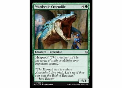Crocodile of the Crossing MTG MAGIC AKH Amonkhet E//I 4x Coccodrillo del Guado