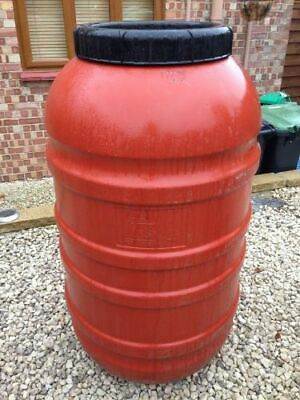 220 Litre Recycled Used Plastic Screw Top Barrel