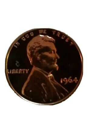 Proof 1964 Lincoln Memorial Cent  $38.00 value
