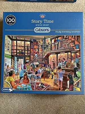 Gibsons Story Time Jigsaw Puzzle, 1000
