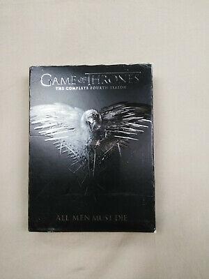 Game of Thrones The Complete Fourth Season All Men Must Die DVD 5 Disc Set