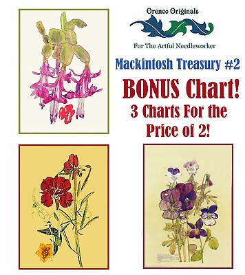 Mackintosh Counted Cross Stitch Chart Pattern Part Seen Part Imagined Charles