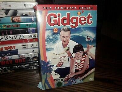 Gidget - Complete Series (DVD, 2006, 4-Disc Set) ACCEPTABLE CONDITION. FREE SHIP