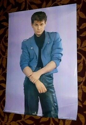 DURAN DURAN ROGER TAYLOR 1983 Anabas Posters Printed in England POSTER