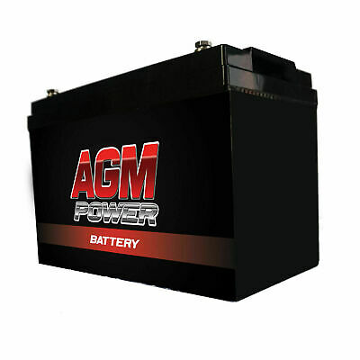 12V 140Ah AGM Power Sealed Battery Caravan Boat Camping Power Solar Re charge