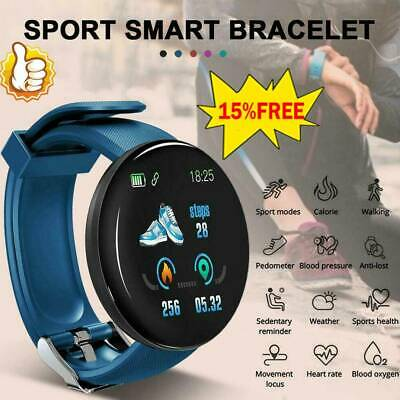 1*Smart Watch Fitness Sport Activity Tracker Heart Rate Monitor For Android/iOS