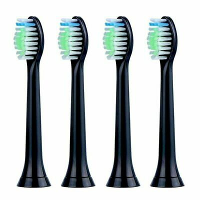 Sonicare compatible diamondclean black Toothbrush Heads Phillips HX6064 and more
