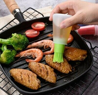Silicone Basting Brush Bottle Baking Grilling Pastry BBQ Oil Buy 3Get 4TH FREE