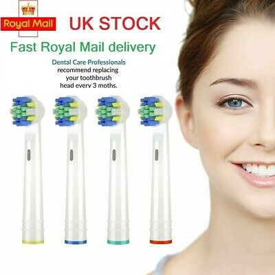 Electric Replacement Brush Heads Toothbrush for Oral B Braun Precision Clean UK
