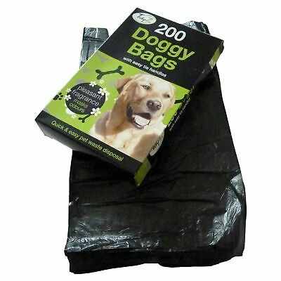 Doggy Bags Scented Dog Cat Puppy Poo Waste  Pooper Scooper  Tie Handles Bags