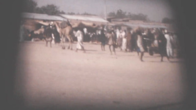 125Ft Standard 8mm Cine Film. 1960's African Village (478)