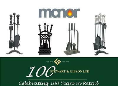 Manor Fireside Companion Sets