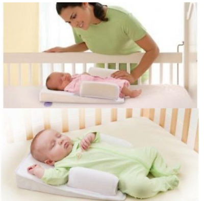 Infant Newborn Baby Anti Roll Pillow Sleep Prevent Flat Head Cushion Position US