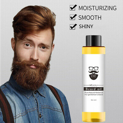 Organic Men Mustache Oil Beard Care Moustache Styling Moisturizing Smoothing
