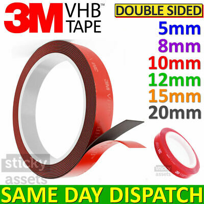 Double Sided Adhesive Tape 3M VHB™ Super Strong 3M Mounting Tape Clear Grey
