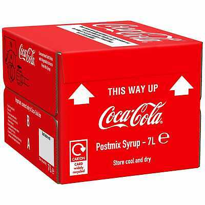 Coca Cola Bag in Box Postmix Syrup - 1x7ltr
