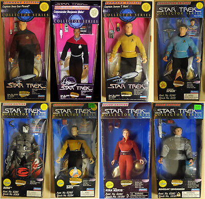 """1994-1997 Star Trek Playmate Collector Ser 9"""" Doll/Figure Collection-Your Choice"""
