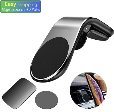 Universal Mobile Phone Car Holder Gravity GPS Stand Bracket Air Vent Clip Mount