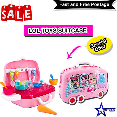 LQL Toys Suitcase Children Birthday Party Bags Fillers Boys Girls Prizes Bubbles