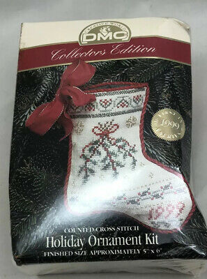 HOLIDAY ORNAMENT KIT  Collectors Edition from DMC Donna Vermillion Giampa design