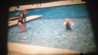 2 Super 8 8mm Cine Films. 1990's Family Holiday in Menorca (FR24)
