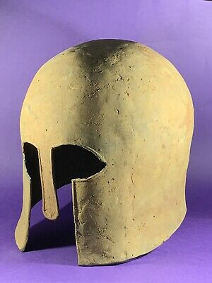 Ancient Greek Bronze Military Battle Helmet - Museum Quality - Circa: 600-300Bce