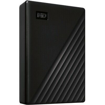 WD My Passport WDBPKJ0050BBK-WESN 5 TB Portable Hard Drive External Black USB 3