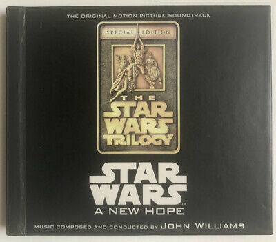 Star Wars Episode Iv A New Hope Ost John Williams 2 Cds Free Shipping For Sale Picclick