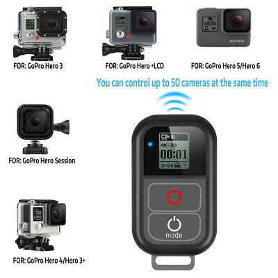 Waterproof Sports Remote Control for GOPRO Hero6 Hero5/5Session/4/4S/3+/3 Cam