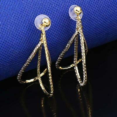 Delicate Hollow Earrings Bohemia Accessories Simulated Pearl Ear Stud LL