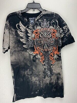 Xtreme Couture by Affliction Short Sleeve T-Shirt Mens Black