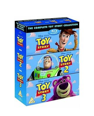TOY STORY The Complete Collection 1 2 3 [Blu-ray Box Set, Disney Pixar Trilogy]