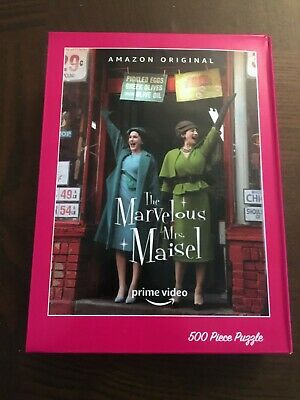 The Marvelous Mrs. Maisel Promo 500 piece Jigsaw Puzzle Amazon Collectible TV