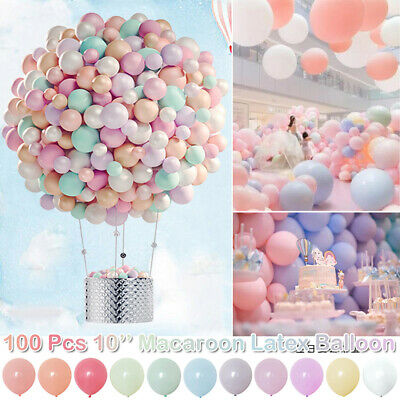 10 Pastel Latex Graduation Kids Birthday Party Christmas Baby Shower Balloons 1 99 Picclick Uk