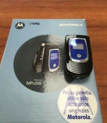 Móvil / Motorola MPX200 NEW. Never used for collectors! Very rare. Unlocked