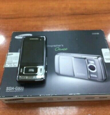 Móvil / Mobile Samsung SGH-G800 + Printer!! NEW. Never used for collectors!