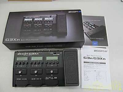 ZOOM G3XN MULTI EFFECTS Guitar Pedal with Expression EUR