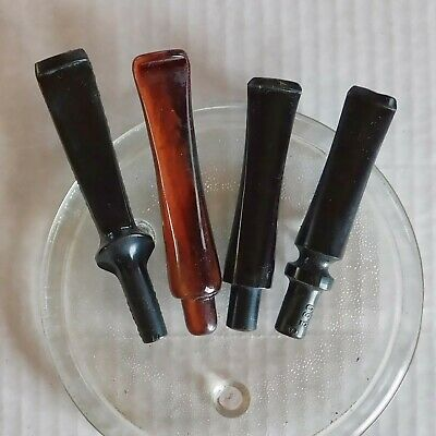 4Pcs New Stems Various Shapes For Smoking Tobacco Pipes #S2