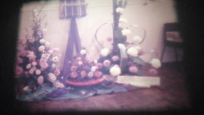 200Ft Super 8 Cine Film. 1970's UK Exeter Floral Arrangement Society. (RK20)