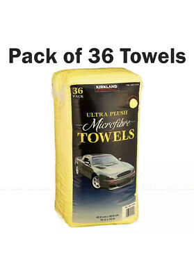 Kirkland Microfibre Ultra Plush Eurow 40cm Microfiber Car Cloth - 36 Towels Pack