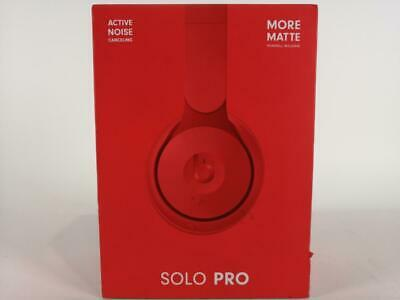 Beats Solo Pro More Matte Collection Wireless Noise Canceling On Ear Red 199 00 Picclick