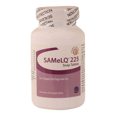 SAMeLQ 225 Snap Tablets for Dogs & Cats, 60 Ct