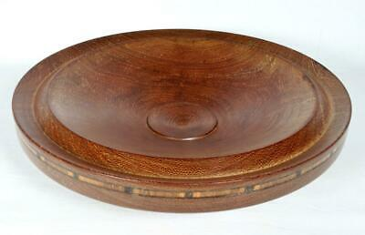 Antique Art Deco Inlaid Church Offertory/Collection Bowl c1930s