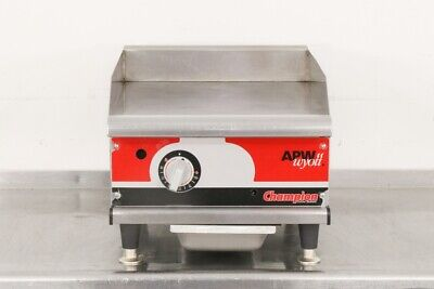 """Used APW Champion Series 18"""" Manual Gas Griddle   560027"""