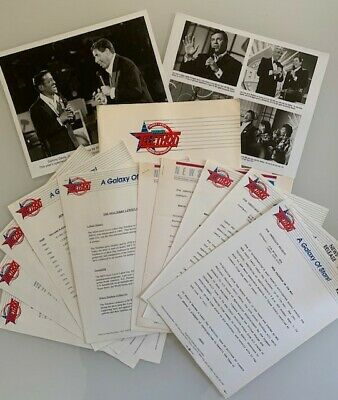 Rare Jerry Lewis Muscular Dystrophy MDA Telethon Press Kit 1991 Photos Releases