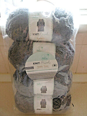 Missionary Auction Brand New Pack 200g Teddy Yarn Colour..Smoke