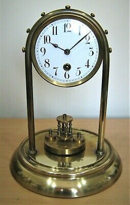 VINTAGE 400 DAY TORSION ANNIVERSARY CLOCK BY UNKNOWN  GERMAN MAKER c192O-30s