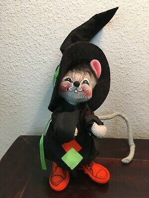 "Annalee 7/"" Factory in The Woods Mouse with Sewing Machine NWT No 2021 1993"