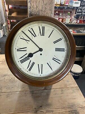 School / Station Wall Clock,Working comes with key and pendulum