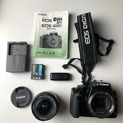 MINT Canon Rebel XTi DSLR Camera, EF-S 18-55mm f/3.5-5.6 Lens TESTED
